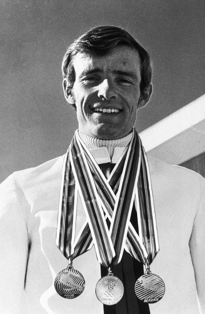 Jean-Claude Killy - Triple Gold Medallist at the 1968 Olympic Games