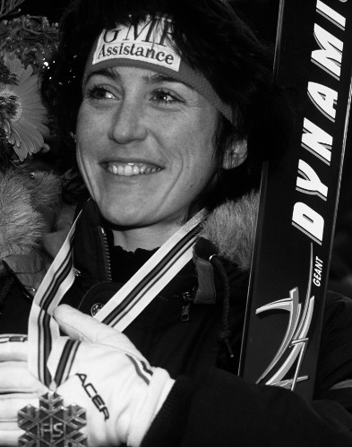 Carole Merle - Giant Slalom World Champion in Morioka, 1993