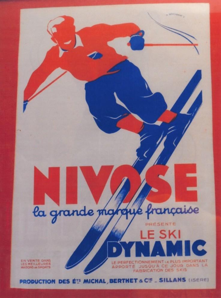 les premières paires de skis dynamic par Paul Michal