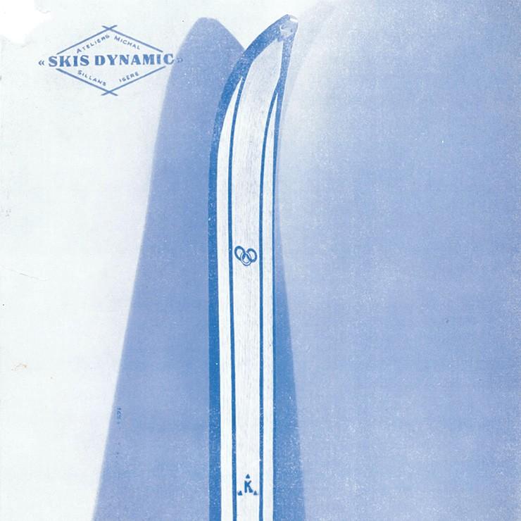 le dynamic K ski