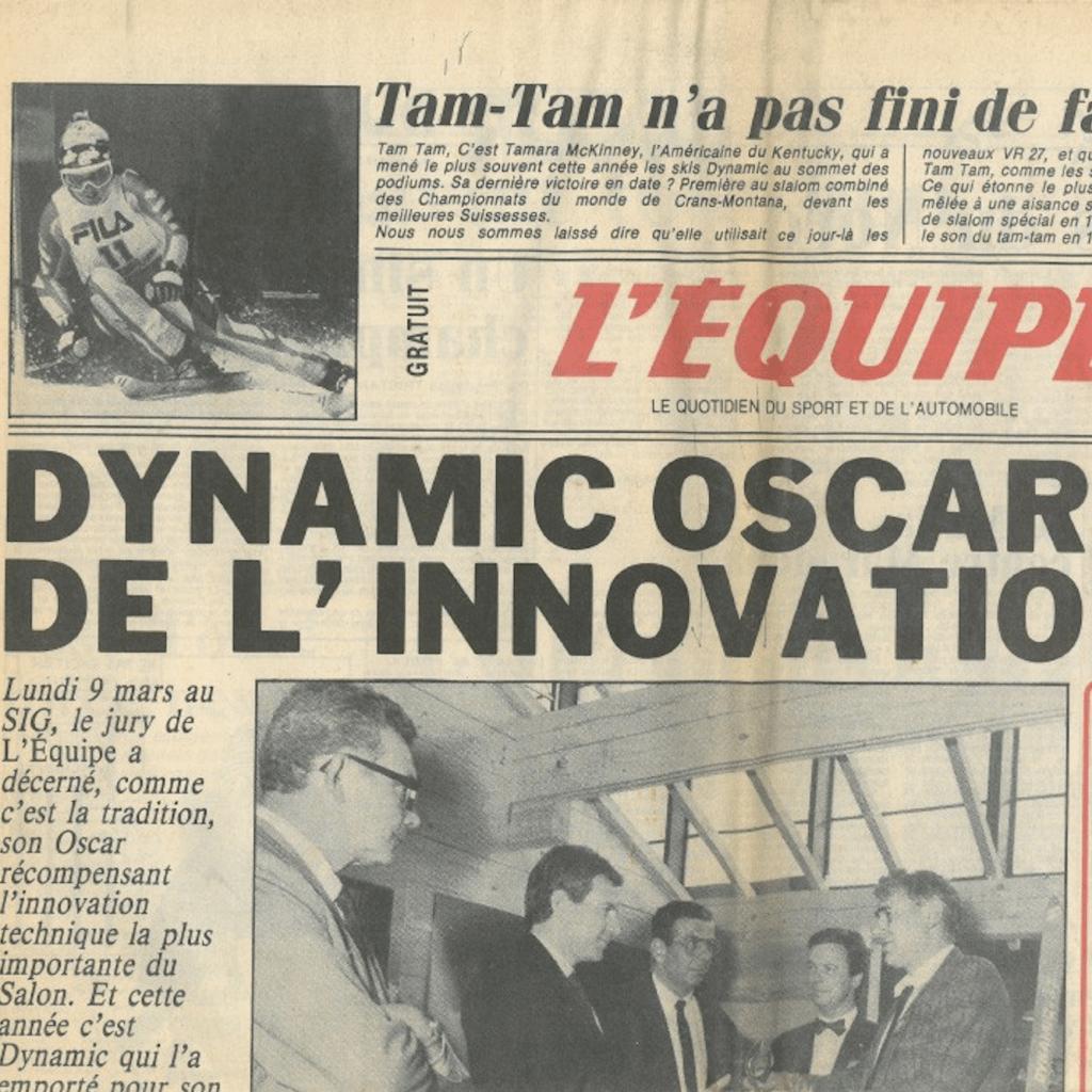 oscar de l'innovation dynamic 1987
