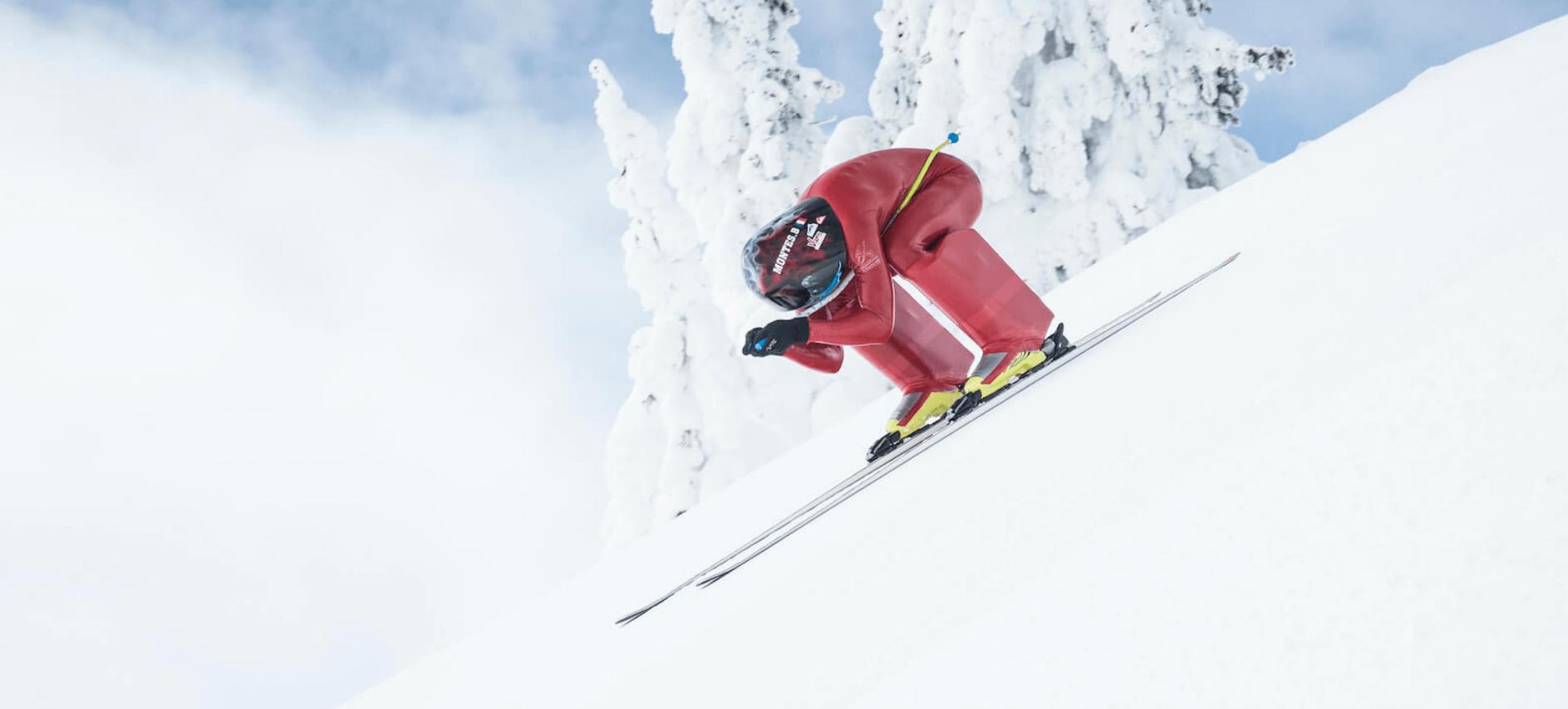 Bastien Montès Champion du Monde de Ski de Vitesse en 2017