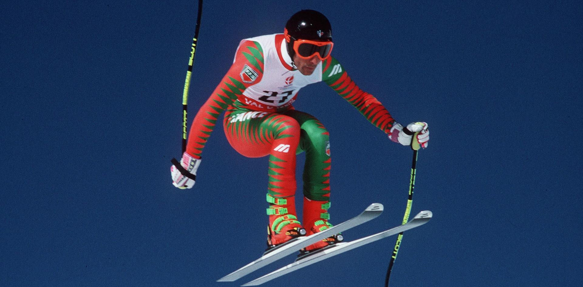 Entrez dans la légende, Dynamic ski