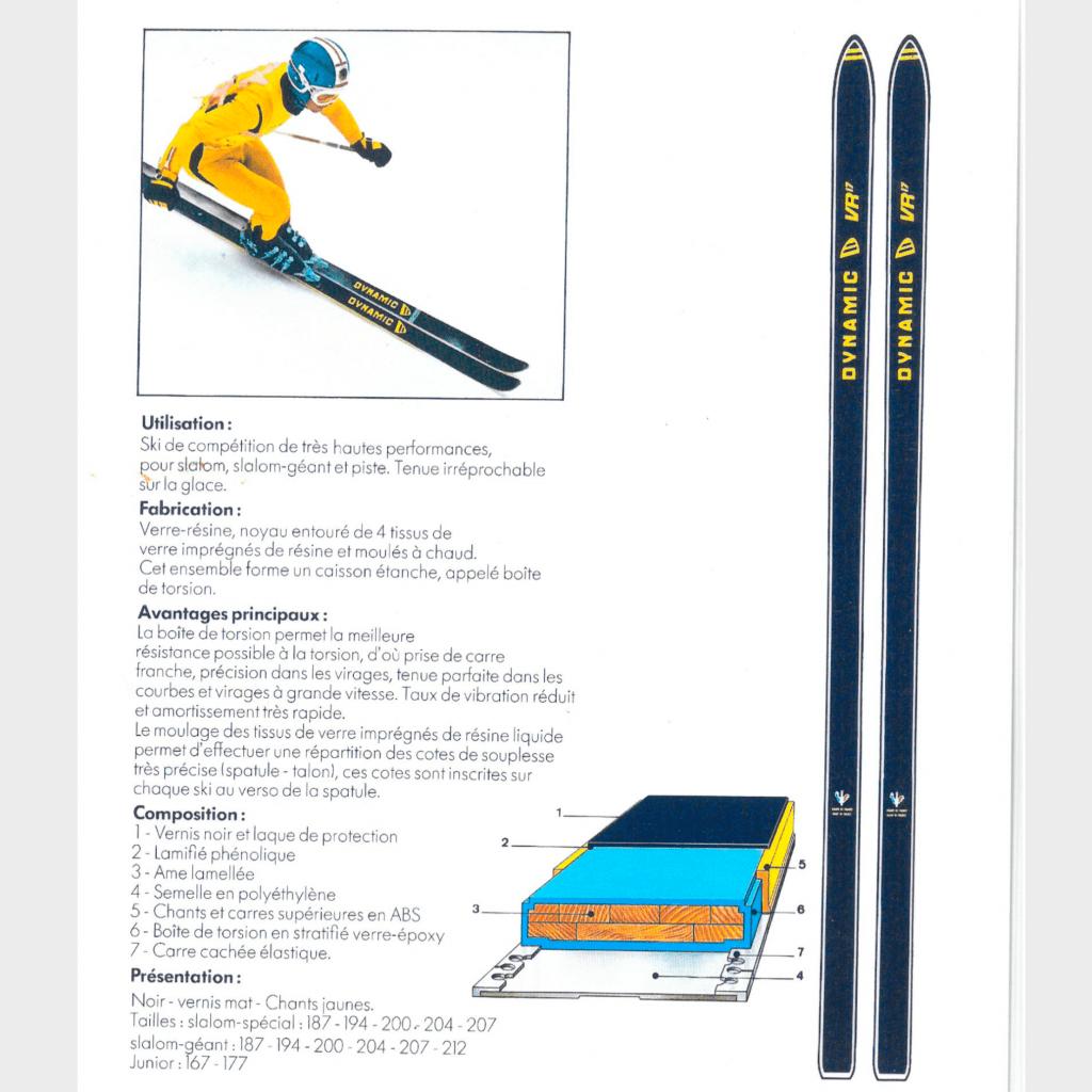 premier dispositif anti-vibration de l'histoire du ski avec le VR17
