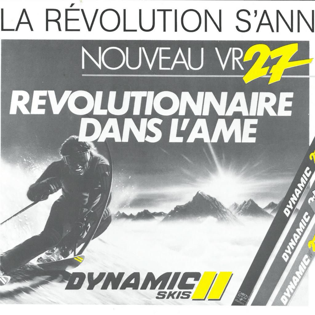naissance du VR27 Dynamic